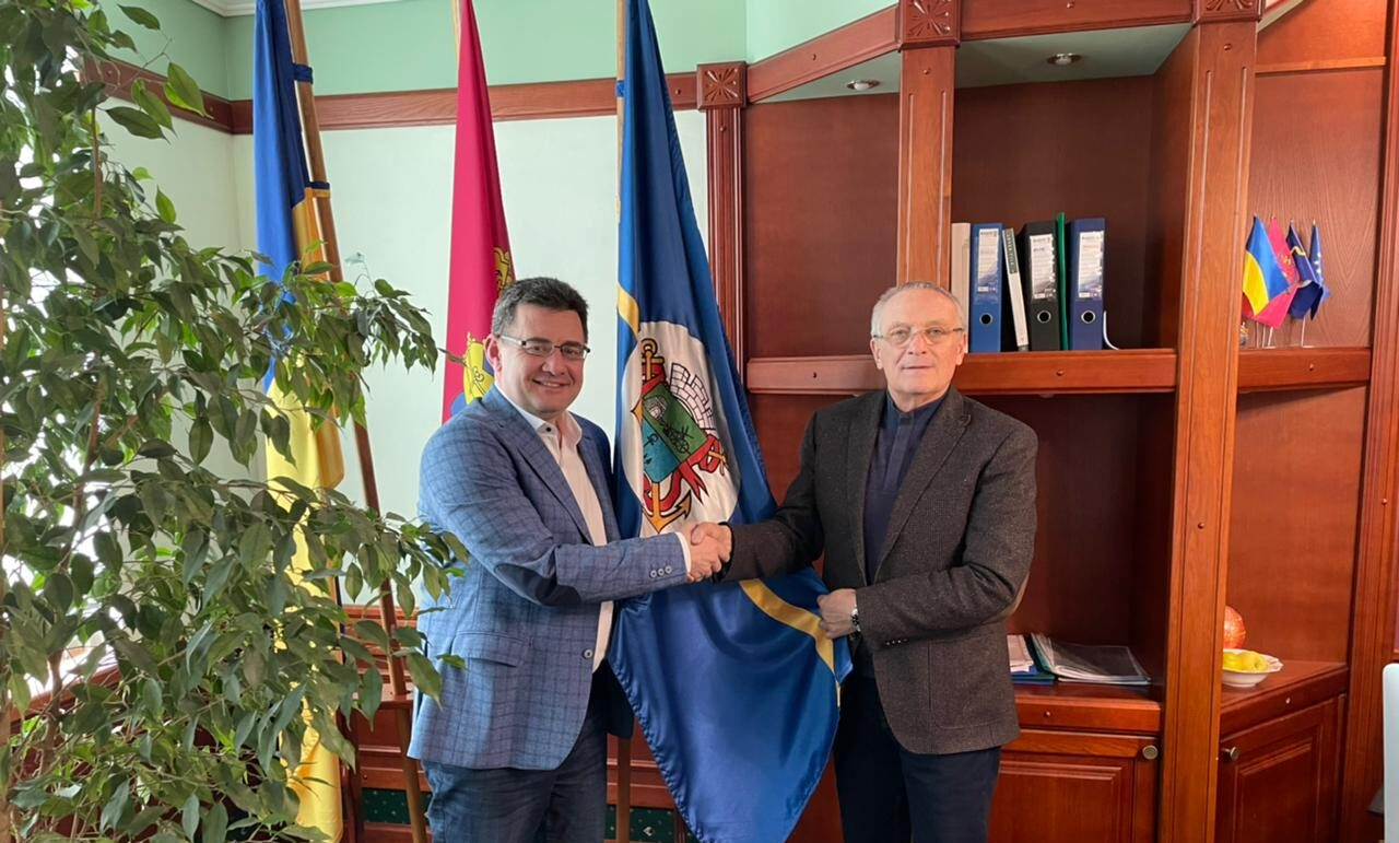 WTC Kyiv met with officials from the municipality of Berdyansk