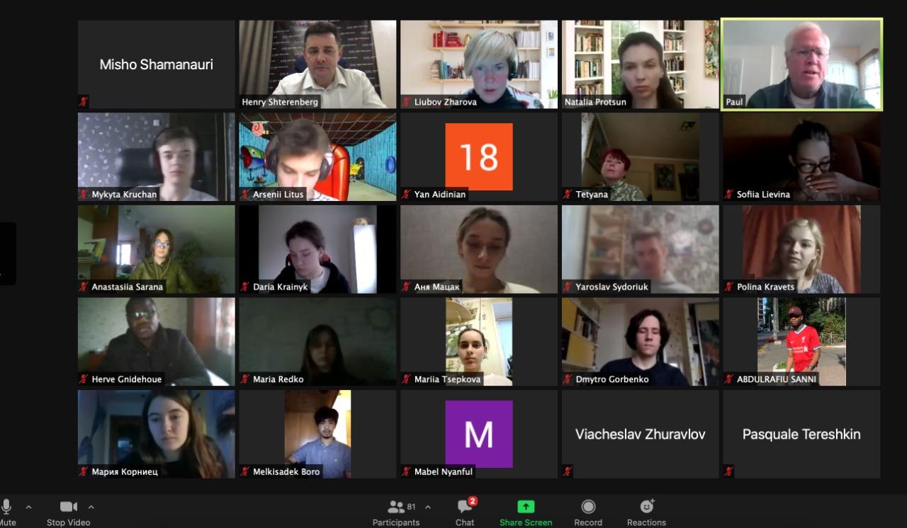 Online meeting with Concordia University